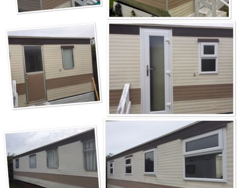 Mobile Windows and Doors fitted in Rush